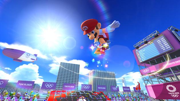 Mario Skateboarding