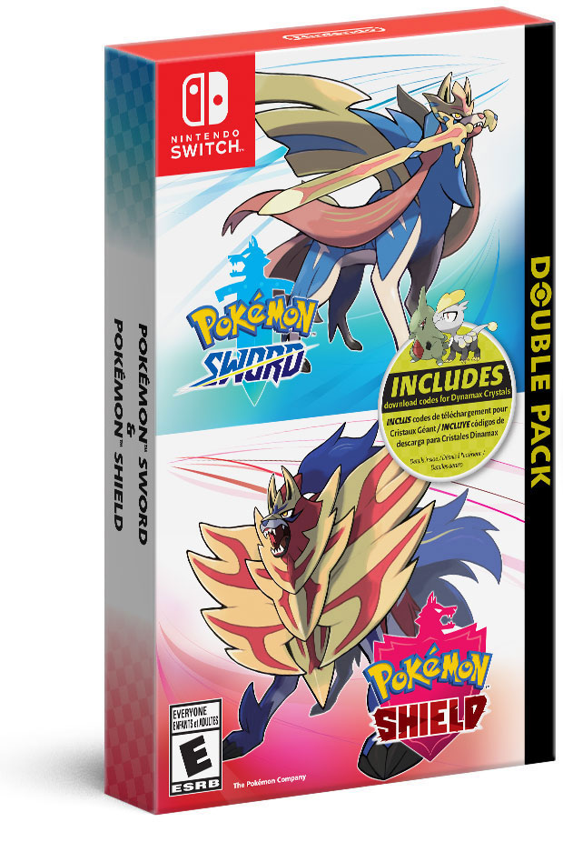 Pokémon Sword and Pokémon Shield Double Pack