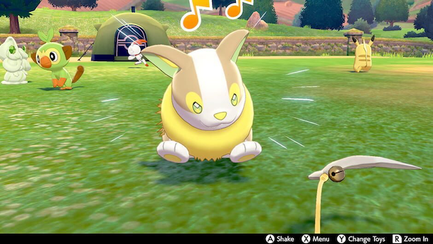 Yamper in Pokemon Sword and Shield