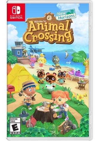 Animal Crossing New Horizons Box Art
