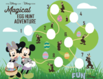 Disney Printable Magical Egg Hunt