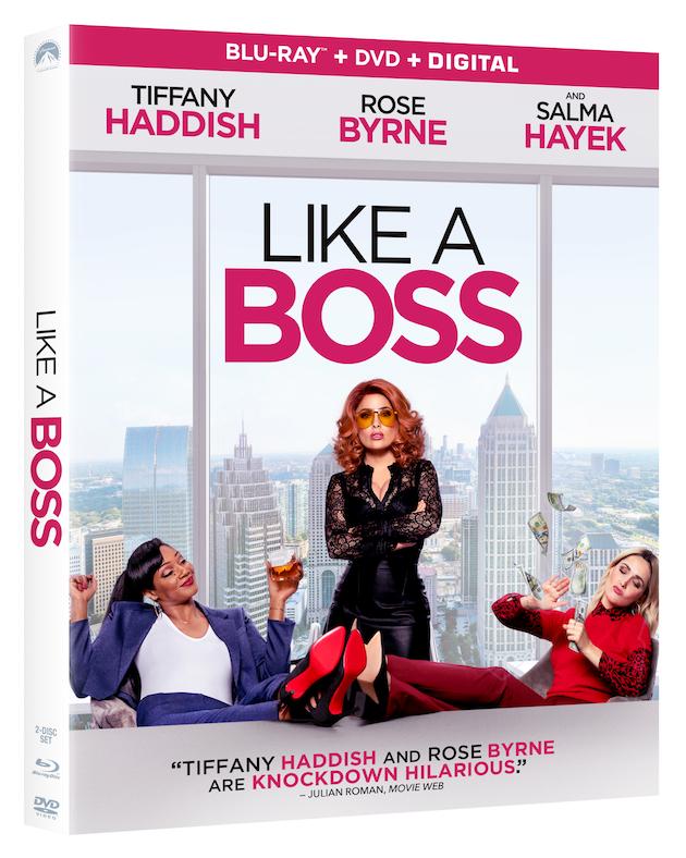 Like a Boss Blu-ray and DVD