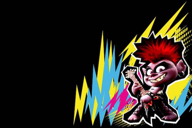 Trolls Queen Barb Zoom Background