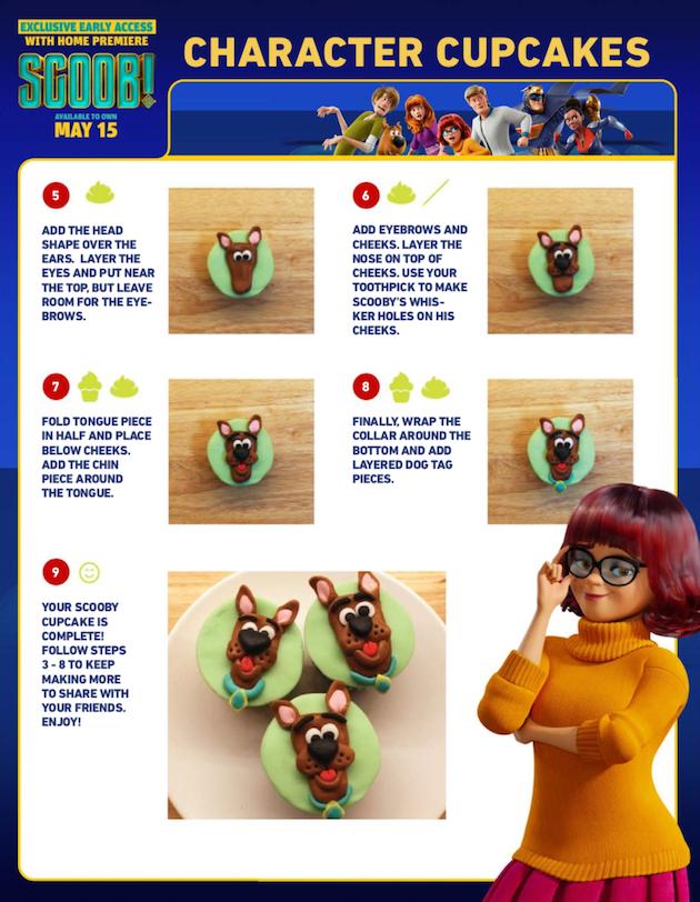 SCOOB DIY Character Cupcakes