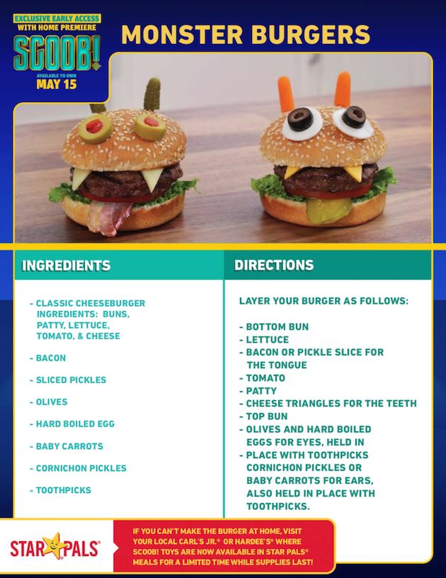 SCOOB Monster Burgers