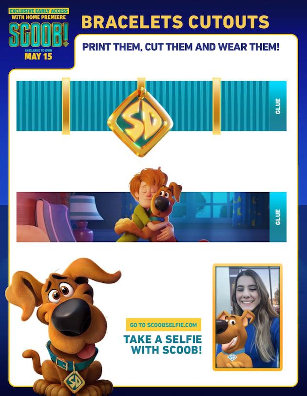 Scooby Doo Bracelet Cutouts