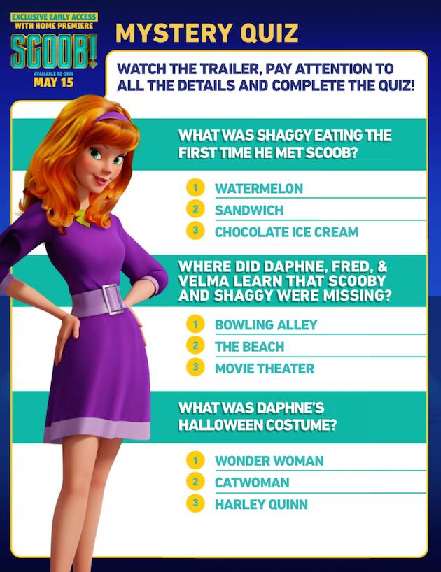 Scooby Doo Mystery Quiz
