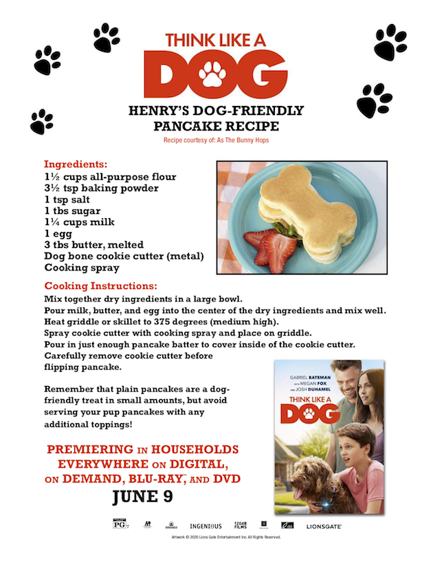 Dog-Friendly Pancake Recipe