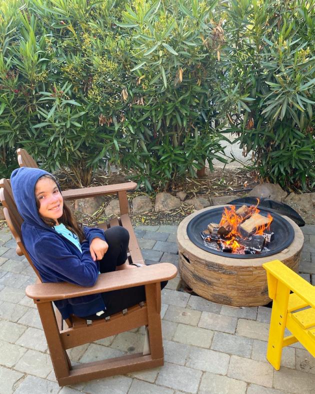 Campfire at KOA