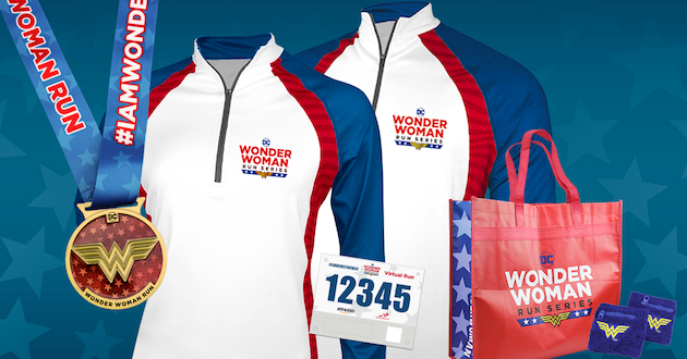 DC Wonder Woman Virtual Run Kit