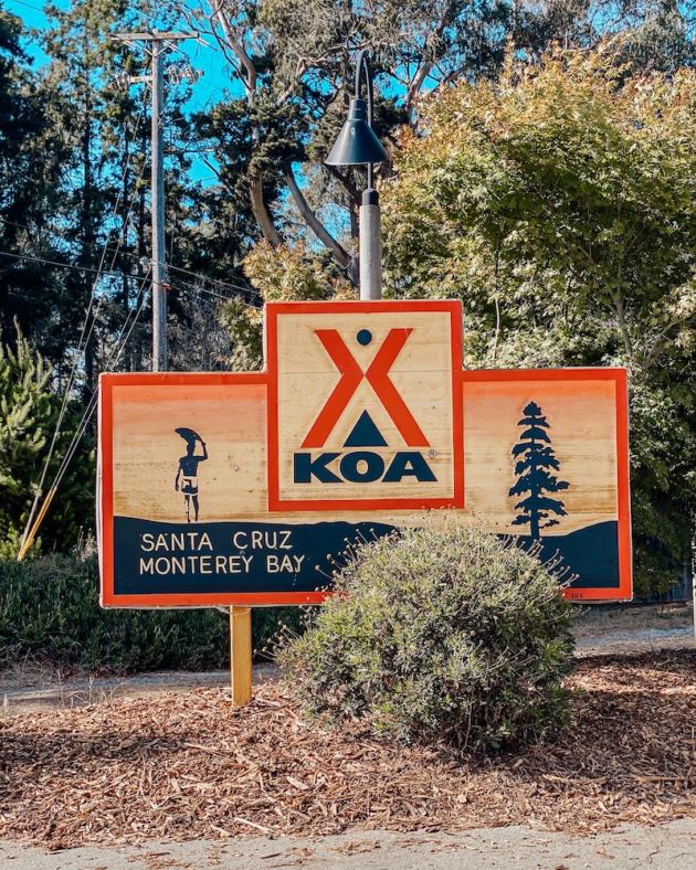 KOA Santa Cruz Monterey