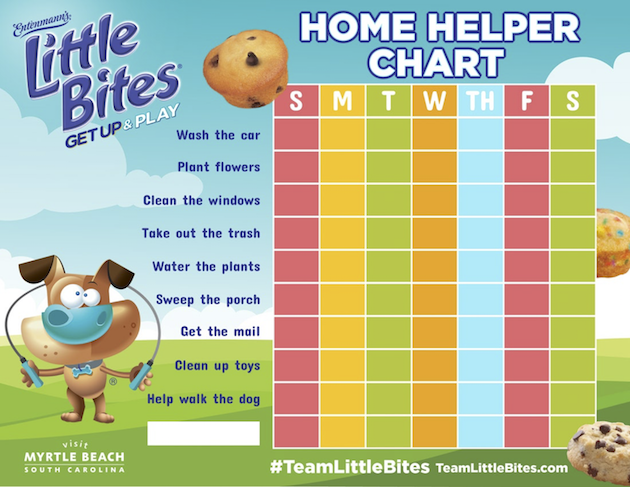Printable Home Helper Chart