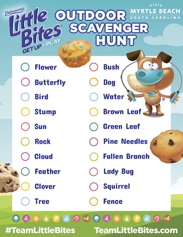 Printable Outdoor Scavenger Hunt